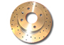 Nitrac Drilled Rear Brake Discs